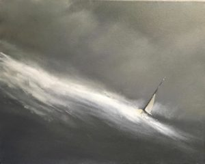 "Rogue Wave, 16""x20"""